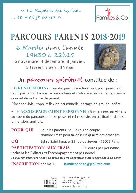 Affiche Parcours Parents 218 219